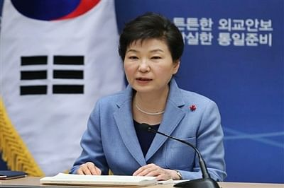 S Korea's Park says North must 'pay price' for nuclear test