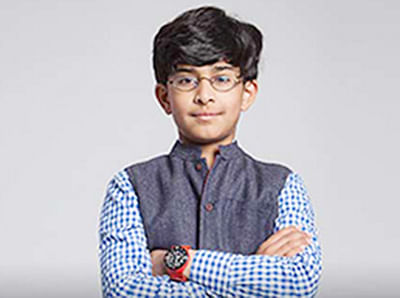 Indian American in fray for $100,000 'Child Genius' tag