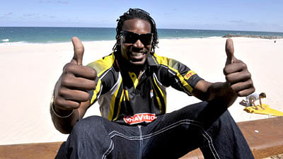Chris Gayle's book 'Six Machine' out in June