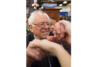 Shake it like Sanders: Watch Bernie Sanders dance to ABBA