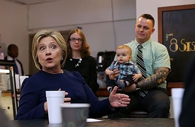 Donald 'trafficking in  hate and fear': Hillary