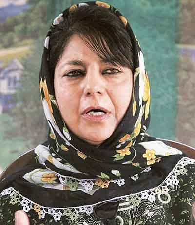 Mehbooba hints at  moving on with BJP