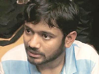 Kanhaiya to lead 'azadi' fight for Umar, Anirban