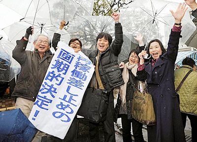 Japanese court orders two  nuke reactors to shut down