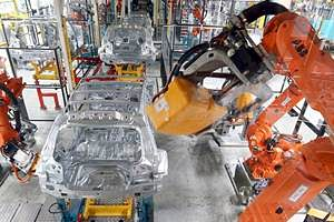 ABB wins large robot order from Valmet Automotive for Mercedes SUV