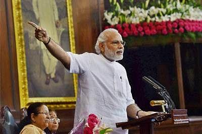 Prime Minister Narendra Modi to address Parliament today