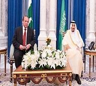 Saudi King Salman hosts dinner for Prime Minister Sharif
