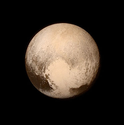 Giant bite mark found on Pluto's surface