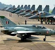 Not enough fighters for two-front war: IAF