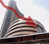 Nifty, Sensex end with loses; remains below 25000 pts