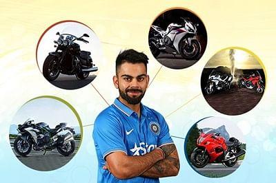 5 Motorcycles as Thrilling as Virat Kohli
