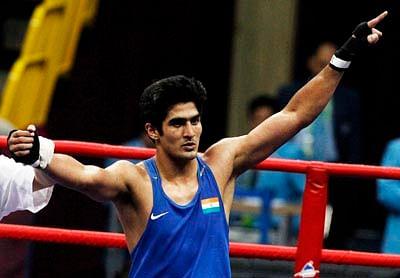 I am under no extra pressure, says Vijender Singh