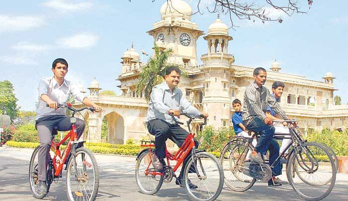 Universities and colleges step up to promote cycle culture