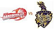 Daredevils to challenge Knight Riders in revenge match