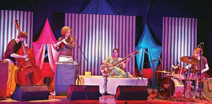 Swar-Maitry at IGRMS – Renowned Sitarist showcases enchanting fusion with French, Belgian musicians
