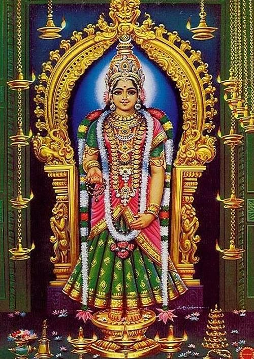 Kanya Maa Bhagawati Durga- pi credit indianmandirs.blogspot.com