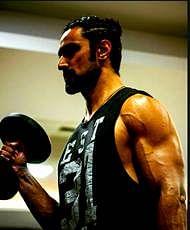 Kunal Kapoor is training hard