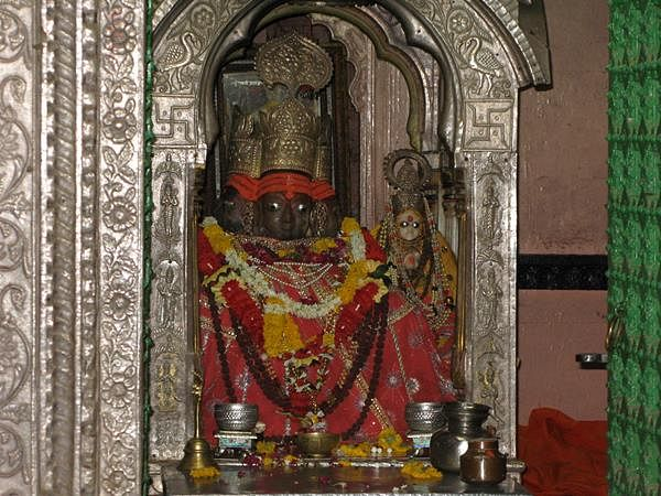 Lord Brahma at Pushkar in Rajasthan- pic credit www.flickr.com