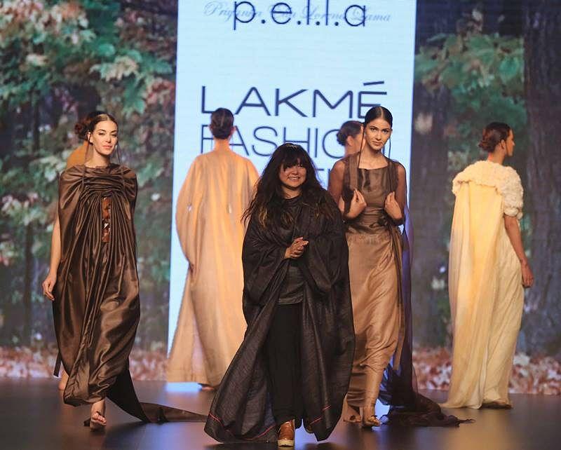 PELLA with models at LFW SR 2016