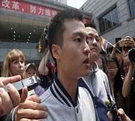Judge rules against couple in China's 1st same-sex case