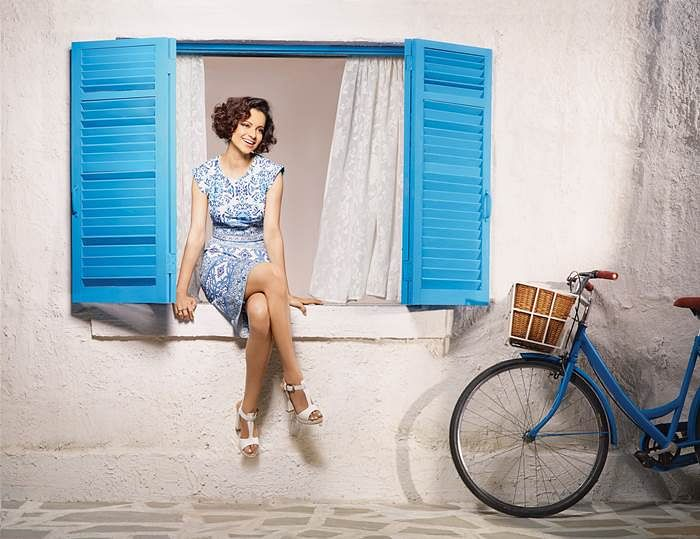 Vero Moda, Kangana Ranaut & clinique come together to give you the perfect Greece inspired makeover