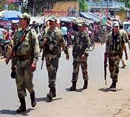 Heavy security deployment for 5th phase of Bengal polls