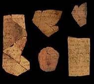 Bible was written earlier, find researchers