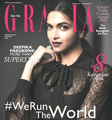 Check out Deepika Padukone stuns on the cover of Grazia