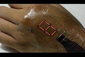 Tattoo-like 'e-skin' turns your body into digital screen