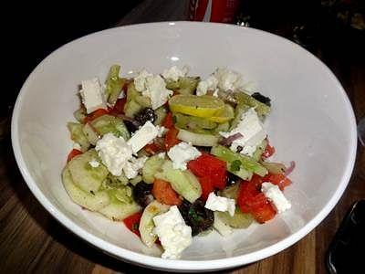 Pick the Greek salad