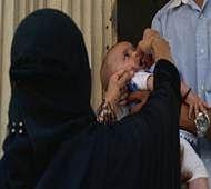 Gunmen kill 7 policemen in Pakistan during polio campaign