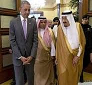 Obama meets with King Salman at start of Saudi Arabia visit