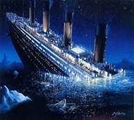 Titanic warning on scrunched-up paper may fetch 15,000 pounds