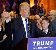 Trump, Clinton triumph on home turf, move closer to nomination