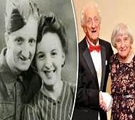 Split by WW II, love-struck couple to marry!