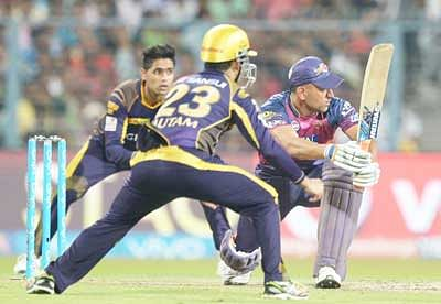 After rain, Pathan spoils Pune's night