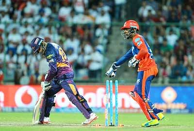 Daredevils outweighed: Easy victory for Rising Pune Supergiants