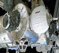 Astronauts set to live in first expandable space habitat