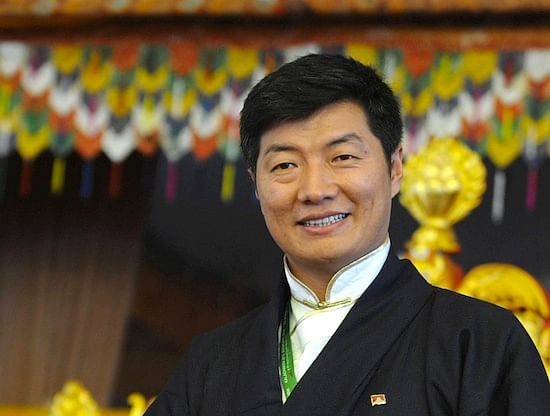Tibetan government-in-exile President Lobsang Sangay