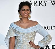 Cannes 2016: Sonam Kapoor attends amfAR Gala in Ralph & Russo gown