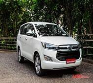 Toyota Innova Crysta petrol launch by Diwali