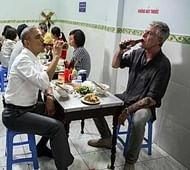 Obama drop-in for pork soup stuns Vietnam street shop owner