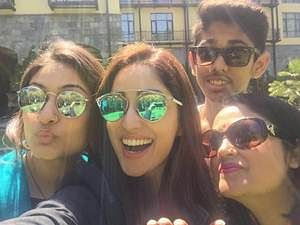 Yami Gautam spends time with family in Shimla