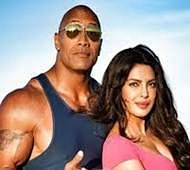 Watch Dwayne The Rock Johnson on the sets of Baywatch with Priyanka Chopra