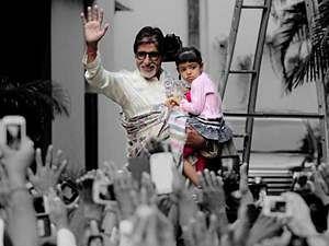 Little Aradhya inspires Amitabh Bachchan