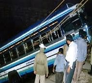 12 killed, 43 injured as bus falls into gorge