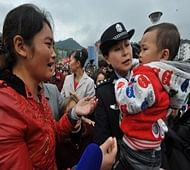 Chinese police launch app to find missing children
