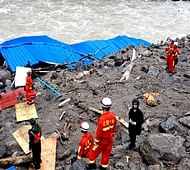 10 killed, 31 still missing in China's landslide