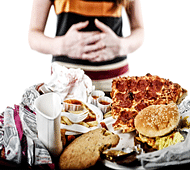 Binge eating may trigger depression