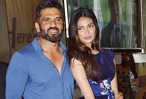 Will definitely do father-daughter film with Athiya: Suniel Shetty
